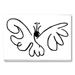 Butterfly Fridge Magnet<br>(Pack of 10)