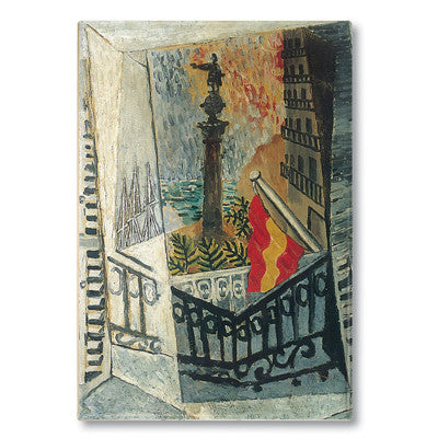El Paseo de Col‰ÛÓn, 1917 Fridge Magnet<br>(Pack of 10)