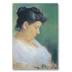 Portrait of the Artist's Mother Fridge Magnet<br>(Pack of 10)