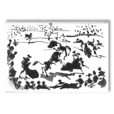 La Cogida, 1957 Fridge Magnet<br>(Pack of 10)