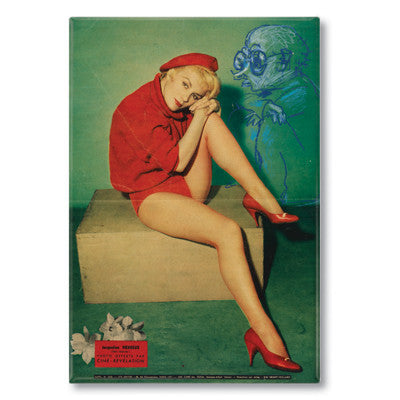 Una Pin Up 1 Fridge Magnet<br>(Pack of 10)