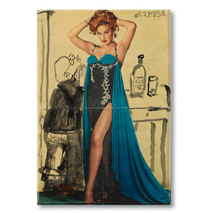Una Pin Up 5 Fridge Magnet<br>(Pack of 10)