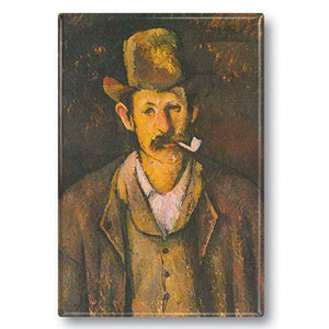 Man with a Pipe Fridge Magnet<br>(Pack of 10)