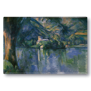 Le Lac d'Annecy Fridge Magnet<br>(Pack of 10)