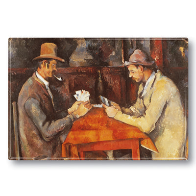 The Card Players Fridge Magnet<br>(Pack of 10)