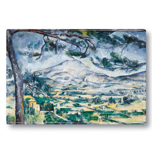 La Montagne Ste-Victoire Fridge Magnet<br>(Pack of 10)