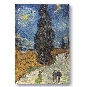 Van Gogh, Road with Cypress and Star Fridge Magnet<br>(Pack of 10)