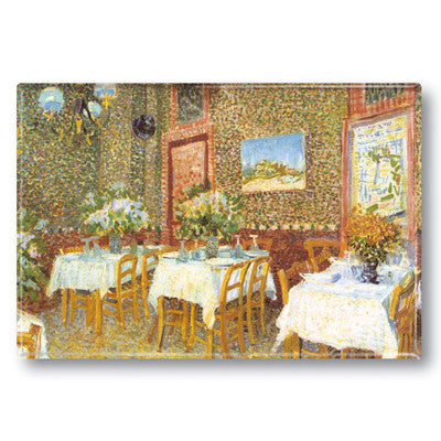 Interior of a Restaurant Fridge Magnet<br>(Pack of 10)