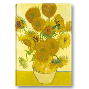 Sunflowers Fridge Magnet<br>(Pack of 10)