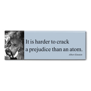 Einstein - It is Harder to Crack Fridge Magnet<br>(Pack of 10)