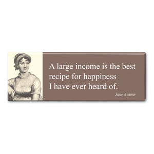 Austen - A Large Income Fridge Magnet<br>(Pack of 10)
