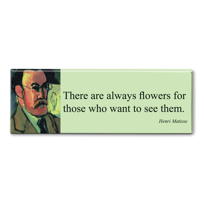 Matisse - There are Always Flowers Fridge Magnet<br>(Pack of 10)