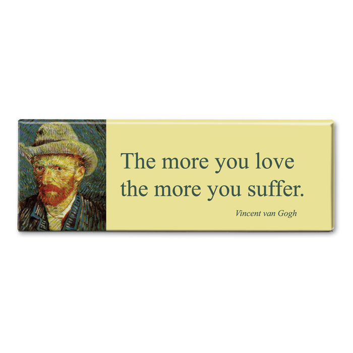 Van Gogh - The More you Love Fridge Magnet<br>(Pack of 10)