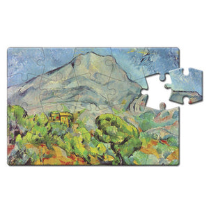 Mont Sainte-Victoire Puzzle Postcard<br>(Pack of 10)