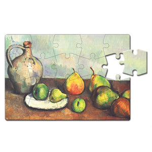 Still Life, Jug and Fruits Puzzle Postcard<br>(Pack of 10)