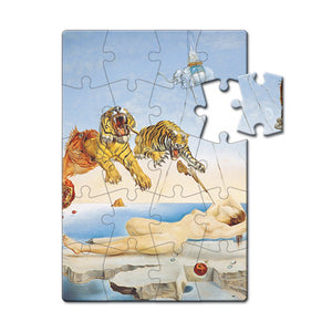 Dream caused by the Flight of a Bee... Before Awakening, 1944 Puzzle Postcard<br>(Pack of 10)