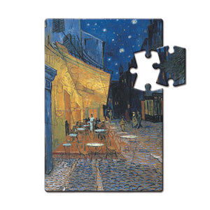 Cafe Terrace at Night Puzzle Postcard<br>(Pack of 10)