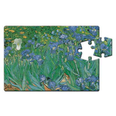 Les Iris Puzzle Postcard<br>(Pack of 10)