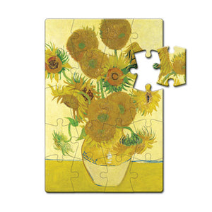Sunflowers Puzzle Postcard<br>(Pack of 10)