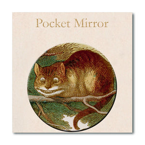 Alice and the Cheshire Cat Pocket Mirror<br>(Pack of 10)