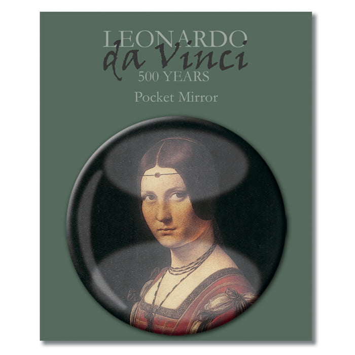Da Vinci's Ladies Pocket Mirror<br>(Pack of 10)