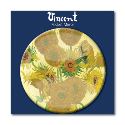 Sunflowers Pocket Mirror<br>(Pack of 10)