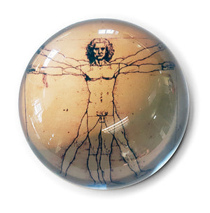 Vitruvian Man Paperweight<br>(Pack of 5)