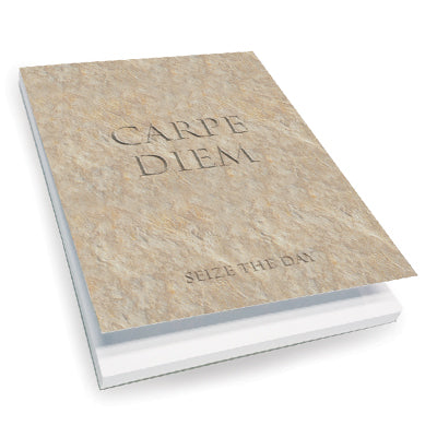 Carpe Diem (Sieze the Day) Notepad<br>(Pack of 10)