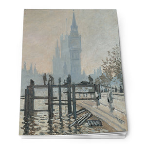The Thames Below Westminster Notepad<br>(Pack of 10)