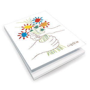 La bouquet de l'amiti̩ Notepad<br>(Pack of 10)