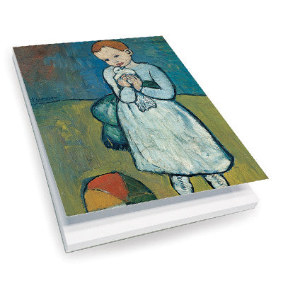 Child with a Dove Notepad<br>(Pack of 10)