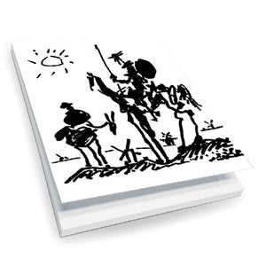 Dom Quichotte, 1955 Notepad<br>(Pack of 10)