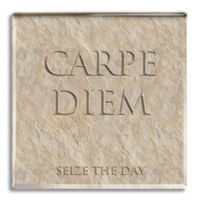 Carpe Diem (Sieze the Day) Fridge Magnet<br>(Pack of 10)
