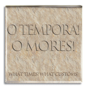 O Tempora, O Mores (Times, Customs) Fridge Magnet<br>(Pack of 10)
