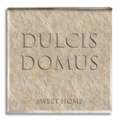 Dulcis Domus (Sweet Home) Fridge Magnet<br>(Pack of 10)