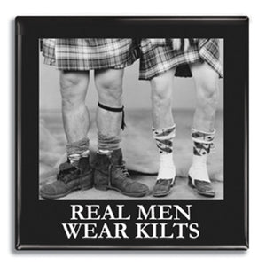 Real mean wear kilts Fridge Magnet<br>(Pack of 10)