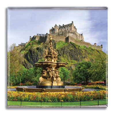 Edinburgh Castle Fridge Magnet<br>(Pack of 10)