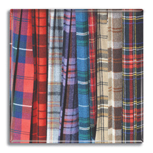Tartan Fridge Magnet<br>(Pack of 10)