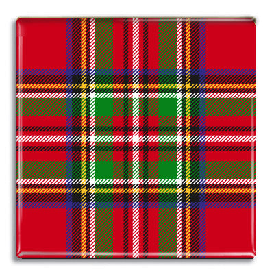 Tartan 2 Fridge Magnet<br>(Pack of 10)