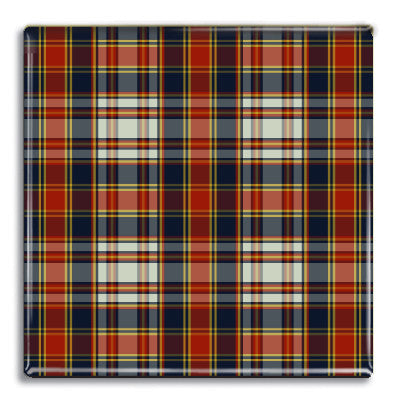 Tartan 3 Fridge Magnet<br>(Pack of 10)