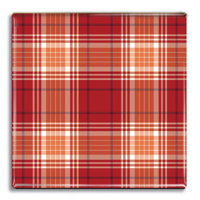 Tartan 4 Fridge Magnet<br>(Pack of 10)