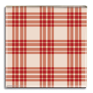 Tartan 5 Fridge Magnet<br>(Pack of 10)