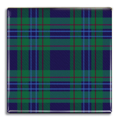 Tartan 6 Fridge Magnet<br>(Pack of 10)