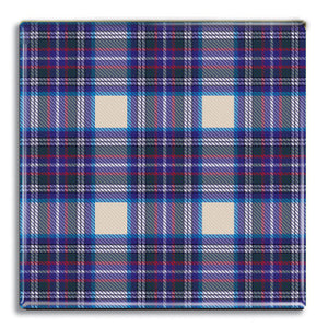 Tartan 8 Fridge Magnet<br>(Pack of 10)