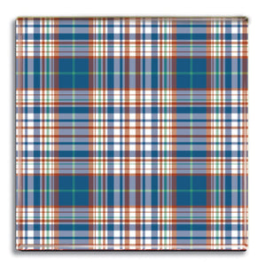 Tartan 9 Fridge Magnet<br>(Pack of 10)