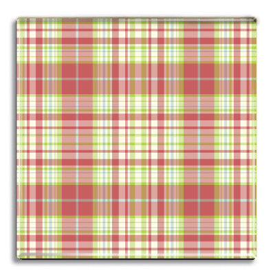 Tartan 15 Fridge Magnet<br>(Pack of 10)