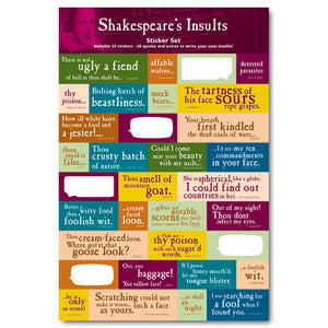 Insults Sticker Set<br>(Pack of 10)