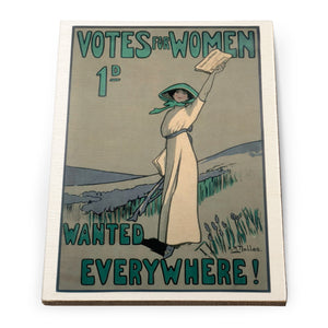 Votes for Women Wooden Postcard<br>(Pack of 10)
