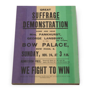 Great Suffrage Demonstration Wooden Postcard<br>(Pack of 5)