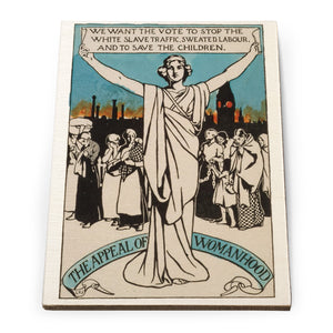 The Appeal of Womanhood Wooden Postcard<br>(Pack of 5)